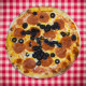 Pepperoni and Black Olives