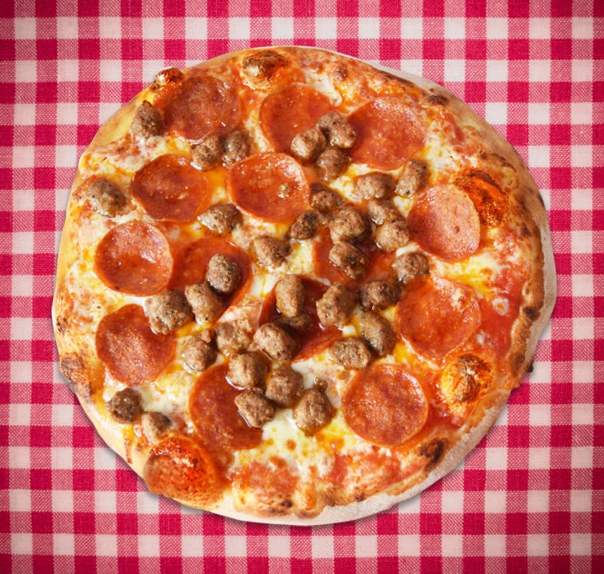 Pepperoni and Sausage